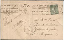 FRANCIA TP CON MAT RODILLO JUEGOS OLIMPICOS DE PARIS 1924 OLYMPIC GAMES - Summer 1924: Paris
