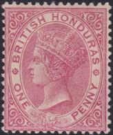 British  Honduras      .   SG     .    18      .      *       .   Ongebruikt      .   /    .  Mint-hinged - British Honduras (...-1970)