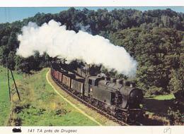 Cp-15-drugeac--la 141 TA-train / Zug / Tren /treno- Photo Vilain N°66 - Frankreich
