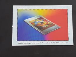 Deutschland, Ausgabe 11.3.1993 Georg Grosz (gelaufen ,2000), H19 - Briefmarken (Abbildungen)