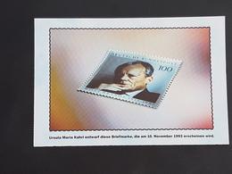 Deutschland, Ausgabe 10.11.93 Willy Brandt (gelaufen ,2000), H19 - Briefmarken (Abbildungen)