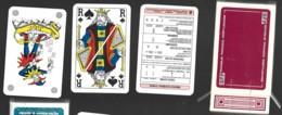 JEU DE 54 CARTES A JOUER PLAYING CARDS BFP BANQUE FRANCO PORTUGAL Carta Mundi Turnhout Belgium BRIDGE - Cartes à Jouer Classiques