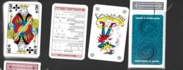 JEU DE 54 CARTES A JOUER PLAYING CARDS SUPPORT A L'EMIGRATION PORTUGAL Carta Mundi Turnhout Belgium BRIDGE - Cartes à Jouer Classiques