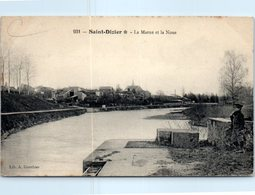 52 - SAINT DIZIER --  La Marne à La Noue - Saint Dizier