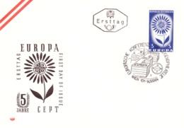 Europa 1964 - Stilisierte Blume FDC(ANK 1203, Mi 1173) - FDC