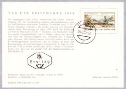 TdB 1964: St.Gilgen FDCKarte (ANK 1206, Mi 1176) - FDC