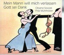REF FRA CD Rare Tomi Ungerer Mein Mann Will Mich Verlassen Gott Sei Dank - Musik & Instrumente