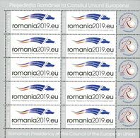Romania 2019 / Romania's Presidency Of The Council Of The EU / MS - European Ideas