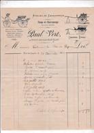 46-P.Vert..Atelier De Carrosserie, Forge & Charronnage...Port-de-Gagnac...(Lot)....1909 - Cars