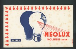 BUVARD:  NEOLUX MOLSHEIM - FORMAT 12X20 Cm - Carte Assorbenti