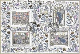 2014 - BF 135  Salon Du Timbre - Les Grandes Heures De L'Histoire De France - Mint/Hinged