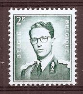 BELGIE Boudewijn Bril * Nr 1066 P3 * Postfris Xx * FLUOR  PAPIER - 1953-1972 Lunettes