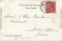 MEXIQUE - MEXICO - CARTE POSTALE POUR LA FRANCE - LE 5-5-1907 - MUELLE DE MAZATLAN. - Mexiko