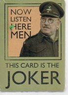 REF EX : Jeux Cartes à Jouer Now Listen Here Men (neuf Scellé) Home Guard Walmington On Sea Platoon Dad's Army Militaria - 54 Cartes