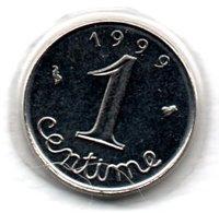 Epi -  1 Centime 1999 BU  -  état  FDC  - - A. 1 Centime