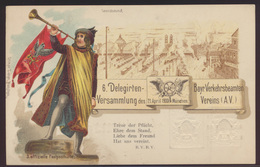Bayern Privatganzsache München Delegierten Versammlung O. Zieher PP 21 C 1 07 - Bavaria