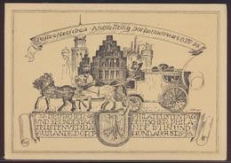 Reich Privatganzsache PP 77 C 6 Dortmund Kutsche Pferde Philatelie  - Germany