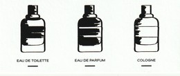 Gentleman Cologne R/V - Perfume Cards