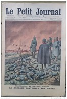 1914  LE PETIT JOURNAL - GUILLAUME II DEVANT ARRAS - ENTERREMENT D'UN HIGHLANDER - Newspapers
