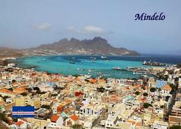 Cape Verde Mindelo Aerial View New Postcard Kap Verde - Cap Verde