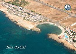 Cape Verde Sal Island Aerial View New Postcard Kap Verde - Cap Verde