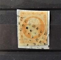 France -  N°16 Oblitéré Roulette De Gros Point - 1853-1860 Napoléon III