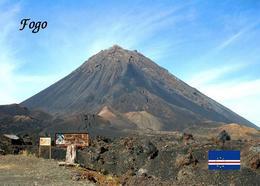 Cape Verde Fogo Island Volcano New Postcard Kap Verde - Cap Verde