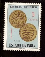 Inde Portugaise 1959 - Coins  5 Cts # MNH # - Inde Portugaise