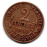 Dupuis -  2 Centimes 1901   -  état  TTB - B. 2 Centimes