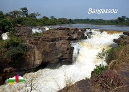 Central African Republic Bangassou Falls New Postcard Zentralafrikanische Republik AK - Zentralafrik. Republik