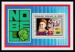 BLOC NEUF DU CONGO - JEAN HENRI DUNANT, PRIX NOBEL DE LA PAIX 1901 N° Y&T 16 - Henry Dunant