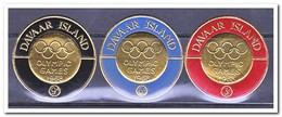 Davaar Island 1968, Postfris MNH, Olympic Games - Schotland