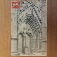 Penmarch.portail De L'église.édition Andrieu 739 - Penmarch