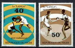 """Niger, Sport, """"Langa"""", 1979, MNH VF  A Pair - Niger (1960-...)"""