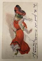 AK  FROG  FROGS  FROSCHE   LA GRENOUILLE  1907. - Tierwelt & Fauna