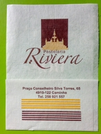 Servilleta,serviette Pastelaria Riviera.Portugal - Company Logo Napkins