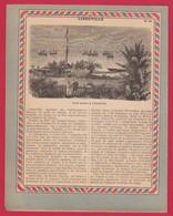 Protége Cahier Ancien La France Coloniale .BRAZZAVILLE ( Le Lac Stanley ) ;LIBREVILLE Calle Sèche - Book Covers