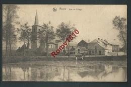 RANCE. (Sivry-Rance) Le Bas Du Village.Voyagée En 1924, Griffe Rance Au Dos. 2 Scans - Sivry-Rance