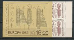Suède 1985 Carnet C1311 Neuf Europa Musique - Carnets