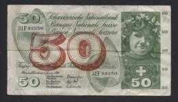 Banconota Svizzera - 50 Franchi 1970 - Switzerland