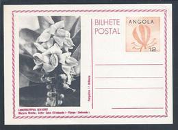 Postal Stationery Angola. Lonchocarpus Sericeus. Mutala Menha. Kimbundo. Purgativo 1ª Infância. Purgative 1st Childhood. - Geneeskunde