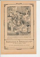 Presse 1908 2 Publicités Machine à Coudre New Home Ballon Montgolfière Couture Couturière Métier 223CH16 - Vieux Papiers
