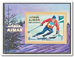 Ajman 1971, Postfris MNH, Olympic Winter Games - Ajman