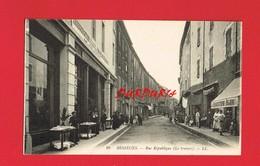 30 Gard BESSEGES Rue De La République Le Travers - Bessèges