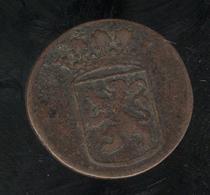 1 Duit VOC Indes Néérlandaises / Nederland Indie 1735 - Inde
