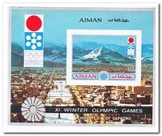 Ajman 1971, Postfris MNH, Olympic Winter Games - Manama