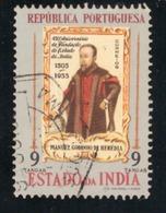 Inde Portugaise 1956 -  450 Aniv Da Fundação Do Estado Da Índia 9T Used - Inde Portugaise