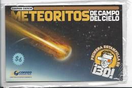 ARGENTINA 2007 METEORITE 3D STAMP, METEORITO, SPACE, ESPACE. SOUVENIR SHEET + GLASSES 3D MINT NH NEW - Nuovi