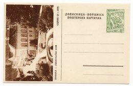 10 DINARA GREEN, AROUND 1956, DOBRNA, ZDRAVILJSKI DOM, SLOVENIA, YUGOSLAVIA, ILLUSTRATED POSTCARD, NOT USED - Slovenia