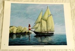 Sheet Taken From Book - Esteban Arriaga, The Lighthouse Of The Wight Islands / 1986 - Art